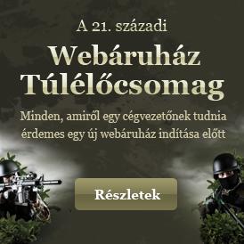 Webáruház Túlélőcsomag